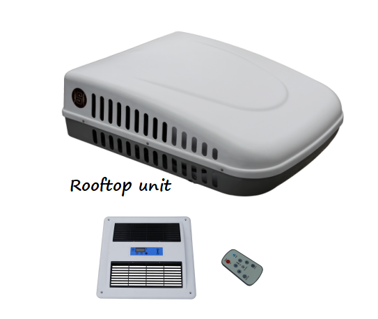 DC24V Rooftop Mounted Air Conditioner (QH-1200)