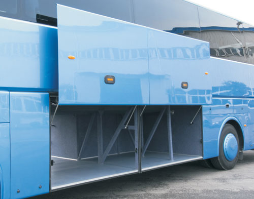 title='Pneumatic luggage door system (LD100P)'