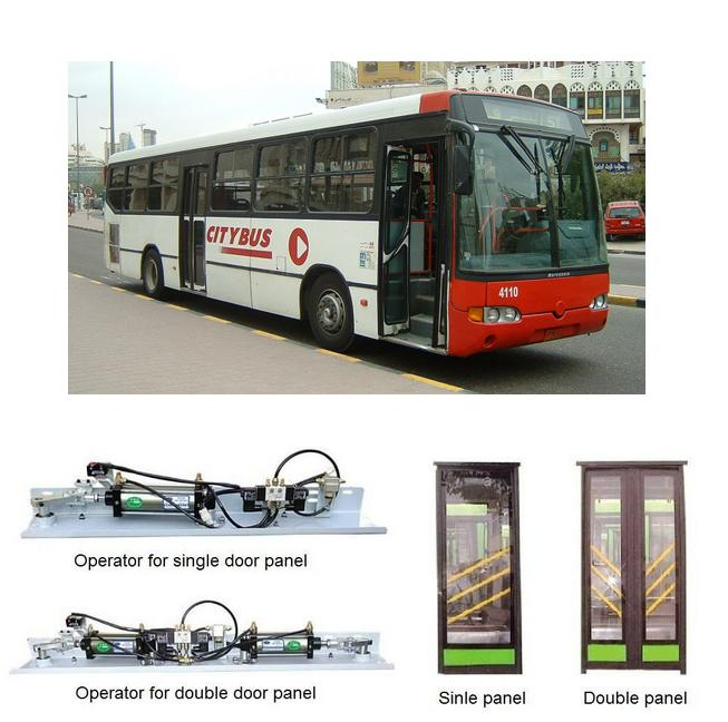 Pneumatic In-swing bus door system  (SID100P)