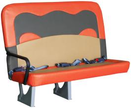 Children's school bus seat